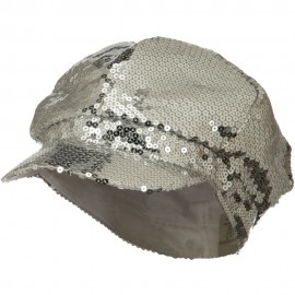 Sequin Newsboy Cap