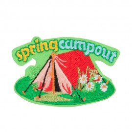 Spring Season Camp Out Patches