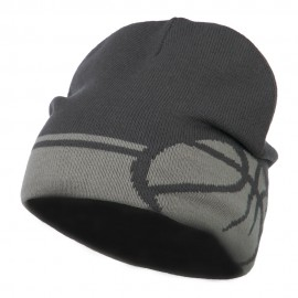 Sports Theme Designed Short Beanie