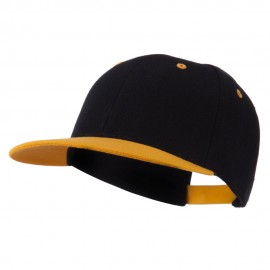 Classic Two Tone Snap Back Cap