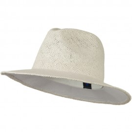 Safari Straw Hats - White