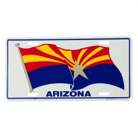 State Flag 3D License Plate