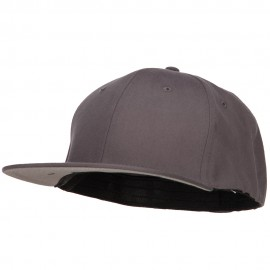 Big Size Stretchable Fitted Cap - Grey