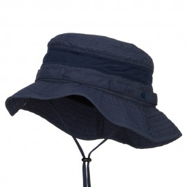 Big Size Talson UV Boonie Hat - Navy
