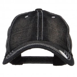 Stone Washed Denim Cap