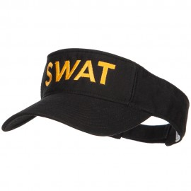 SWAT Embroidered Cotton Washed Visor