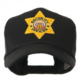 USA Security and Rescue Embroidered Patch Cap - Security Officer 5