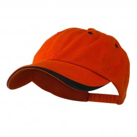 Two Tone Adjustable Brushed Cotton Twill Cap