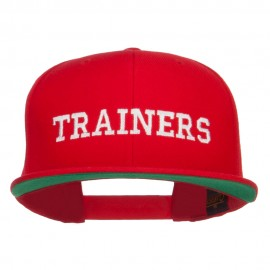 Ash Ketchum Trainers Embroidered Snapback Cap