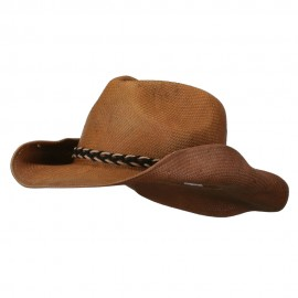 Twisted Band Men's Cowboy Hat