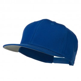 Superior Cotton Twill Flat Bill Snapback Prostyle Cap