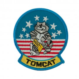 Navy Tomcat Embroidered Military Patch