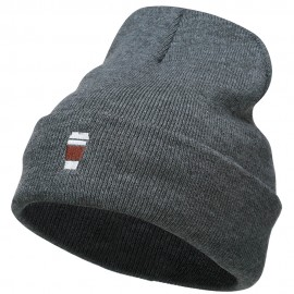 To Go Cup Embroidered Long Beanie