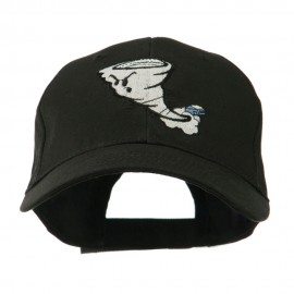 Tornado Mascot Embroidered Cap