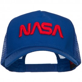 3D NASA Letters Logo Embroidered Twill Mesh Cap