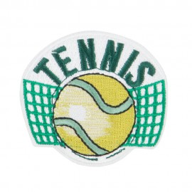 Tennis Embroidered Patches
