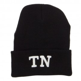 TN Tennessee State Embroidered Long Beanie