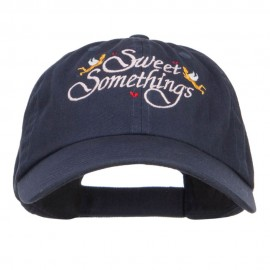 Sweet Somethings Embroidered Low Cap