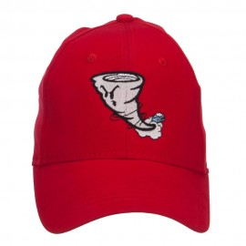 Tornado Embroidered Youth Brushed Cap