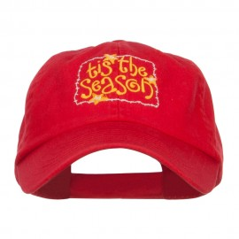 Tis the Season Embroidered Pet Spun Cap