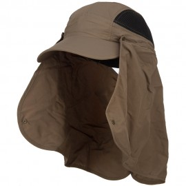 Taslon UV Cap with Removable Neck Flap
