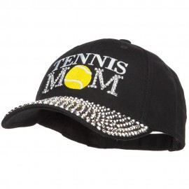 Tennis Mom Jewel Cap