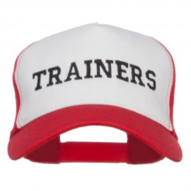 Ash Ketchum Trainers Embroidered Mesh Cap