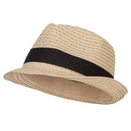 Women's Toyo Braid Fedora Hat