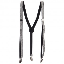 Thin Sparkle Suspenders