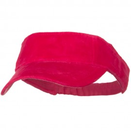 Superior Velvet Cloth Sun Visor