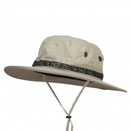 Talson UV Sun Hat with Jacquard Ribbon