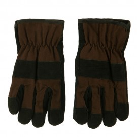 Suede Twill Rugged Work Glove
