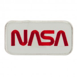 Text Law and Forces Embroidered Military Patch - NASA 2