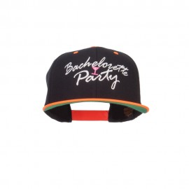 Bachelorette Party Embroidered Two Tone Snapback