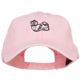 Shih Tzu Embroidered Washed Cotton Twill Cap