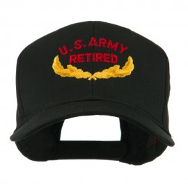 US Army Retired Emblem Embroidered Cap