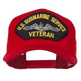 US Submarine Service Veteran Patched Mesh Back Cap