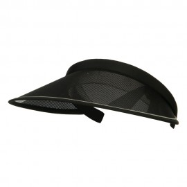 UV 50+ Protection Clip On Visor - Black