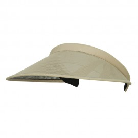 UV 50+ Protection Clip On Visor - Khaki