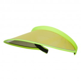 UV 50+ Protection Clip On Visor - Neon Yellow