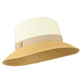 Women's UPF 50+ Paper Braid Sun Hat