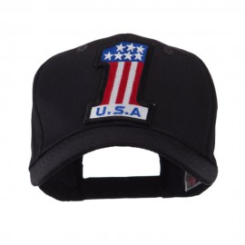 USA Flag Style Military Patch Cap