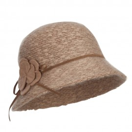 Women's Flower Yarn Bucket Hat
