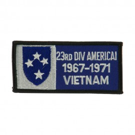 US Army Infantry Embroidered Military Patch - 23rd Div