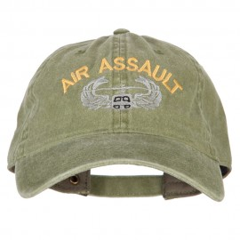 Air Assault Embroidered Washed Cotton Twill Cap
