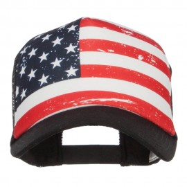 USA Flag Foam Trucker Cap