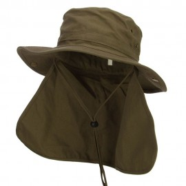 UPF 50+ Snap Brim Flap Hat