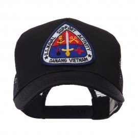 US Navy Military Patched Mesh Cap - Vietnam