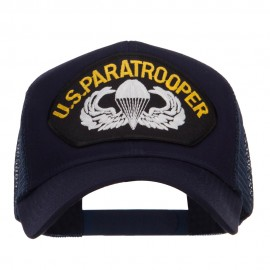 US Paratrooper Patched Mesh Cap