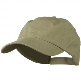 Low Profile Unstructured Cotton Cap - Khaki
